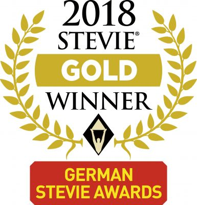 Stevie Gold Winner Logo