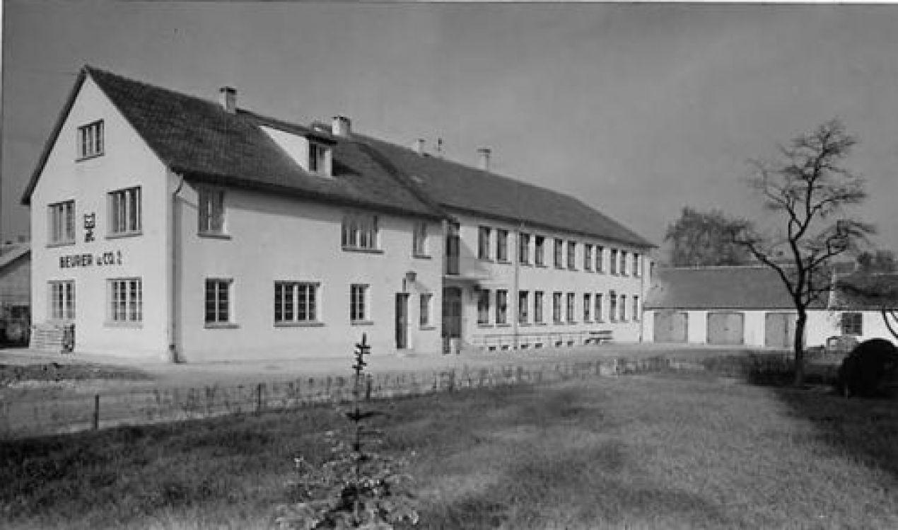 Beginn des Wiederaufbaus an der Söflinger Straße