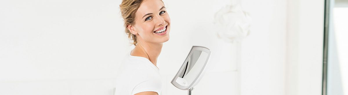 Beurer illuminated cosmetics mirror